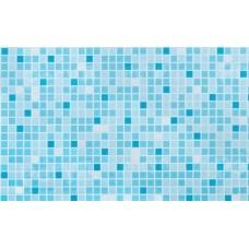 Панель ПВХ Век 25см Мозаика бирюзовая глянец - длина 2.7м