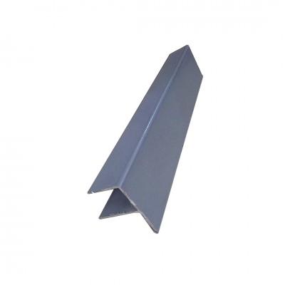 F-профиль для террасной доски ДПК, Серый