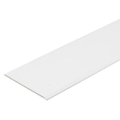 Панель ПВХ Век 25см Лак белый - длина 3м