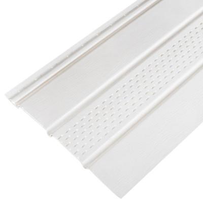 Софит FineBer Classic Color с перфорацией 1 доски Белый