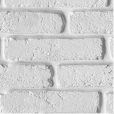 Панель ПВХ Ю-Пласт Термоперенос, Кирпич Белый (2,5 м)