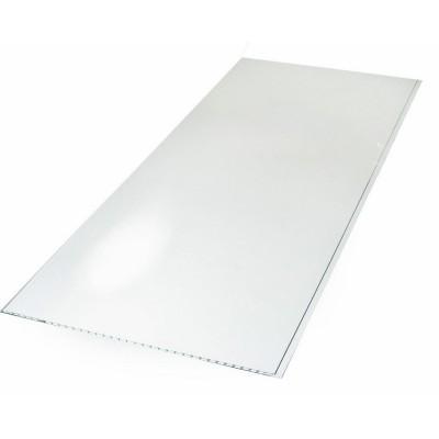 Панель ПВХ Век 37см Лак белый - длина 2.5м