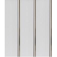 Панель ПВХ Акватон 20см 2-секционная Хром (609/6) - длина 3м