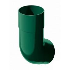 Колено трубы 135 градусов ПВХ ТехноНиколь Зеленый