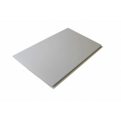 Панель ПВХ Век 25см Матовая белая - длина 3м