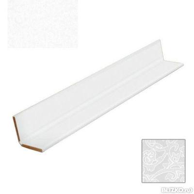 Угол универсальный Век Кружева белые - длина 3м