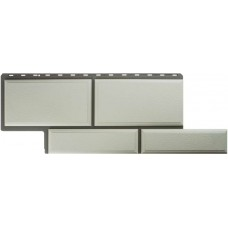 Фасадная панель ПВХ Альта-Профиль Камень Флорентийский Белый