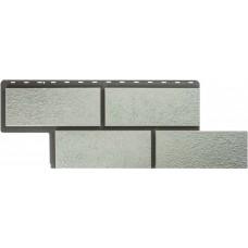 Фасадная панель ПВХ Альта-Профиль Камень Неаполитанский Белый
