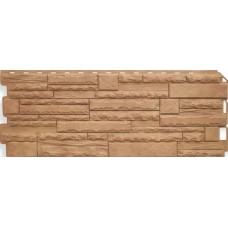 Фасадная панель ПВХ Альта-Профиль Камень Скалистый Памир