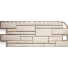 Фасадная панель ПВХ Альта-Профиль Камень Белый