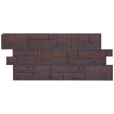 Фасадная панель ПВХ Docke (Деке) BURG Темный