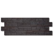 Фасадная панель ПВХ Docke (Деке) STEIN Темный Орех