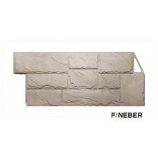 Фасадная панель ПВХ FineBer (Файнбир) Камень Крупный Песочный
