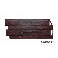 Фасадная панель ПВХ FineBer (Файнбир) Камень Природный Коричневый