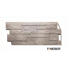 Фасадная панель ПВХ FineBer (Файнбир) Камень Природный Песочный