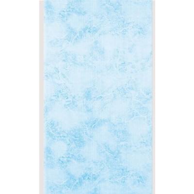 Панель ПВХ Пласт Декор 25см Аметист голубой - длина 2м