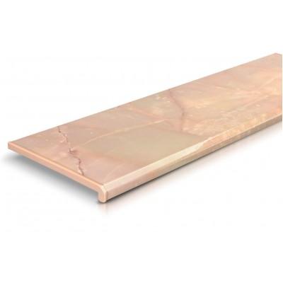 Подоконник ПВХ Danke розовый оникс (глянцевый)
