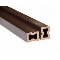 Лага для террасной доски ДПК PanLine, опорная, 40x30 мм
