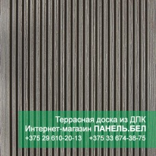 Террасная доска ДПК Терропласт под дерево, серый, м2