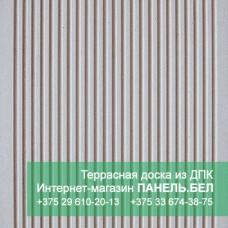 Террасная доска ДПК Терропласт, бежевый, м2