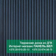 Террасная доска ДПК Терропласт, графит, м2