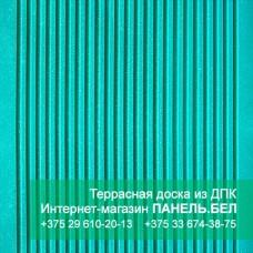 Террасная доска ДПК Терропласт, зеленый, м2