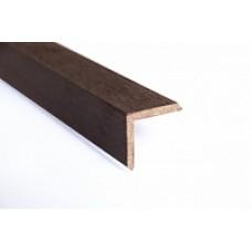 Уголок ДПК для террасной доски 40x30мм PanLine, коричневый