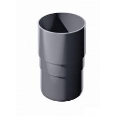 Муфта трубы ПВХ ТехноНиколь Серый
