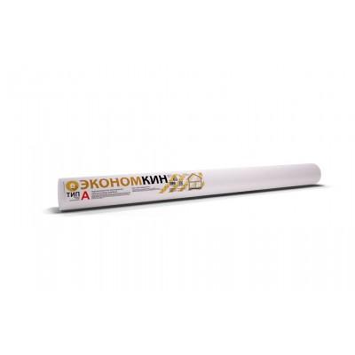 Ветрозащитная паропроницаемая мембрана Экономкин ТИП А (плотность 80г/м2) - 30 м.кв.
