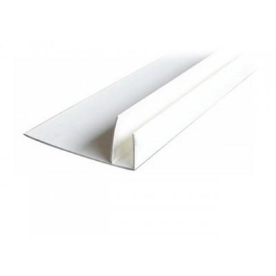 Профиль F Пласт Декор - длина 3м