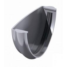 Заглушка желоба ПВХ ТехноНиколь Серый