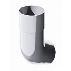 Колено трубы 135 градусов ПВХ ТехноНиколь Белый