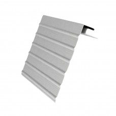 J-профиль с фаской для сайдинга Grand Line (Гранд Лайн), Белый