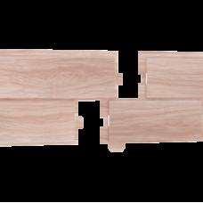 Фасадная панель ПВХ Ю-Пласт Hokla Лиственница Светлая