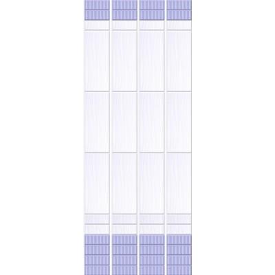 Панель ПВХ Кронапласт Unique 25см Ирис ФОН - длина 2.7м