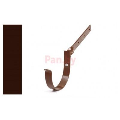 Кронштейн (держатель) водосточного желоба Альтер 120/100 ПЭ, D-120, Шоколад