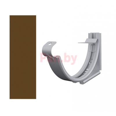 Кронштейн (держатель) водосточного желоба Lindab 150/100 регулируемый, D-150, Коричневый