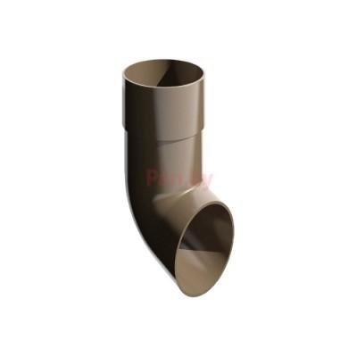 Слив (отмет) водосточной трубы Альтер 120/100 D-100, Шоколад