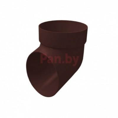 Слив (отмет) водосточной трубы Grand Line Стандарт шоколадный