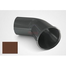 Слив (отмет) водосточной трубы Raiko Premium D-90, Коричневый