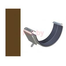Соединитель водосточного желоба Lindab 150/100 D-150, Коричневый