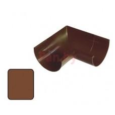Угол водосточного желоба Plastmo 125/90 внутренний, 90 град., D-125, Коричневый