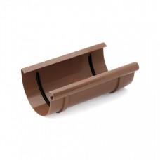 Соединитель водосточного желоба Bryza 125 D-125, Коричневый