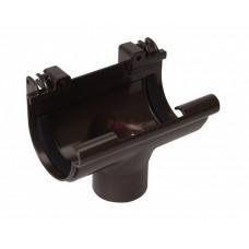 Воронка водосточная Nicoll LG16 D-70, Коричневый