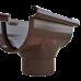 Воронка водосточная Альта-Профиль Элит D-125, Коричневый
