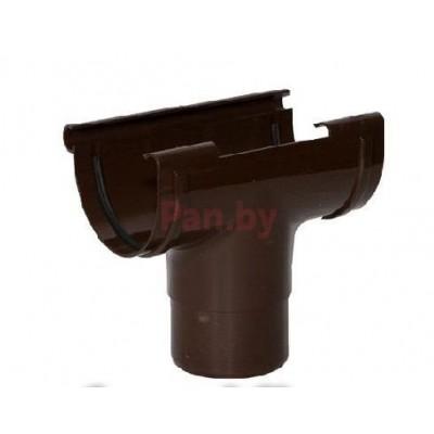 Воронка водосточная Альта-Профиль Стандарт D-74, Коричневый