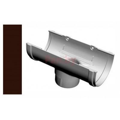 Воронка водосточная Альтер 120/100 D-100, Шоколад
