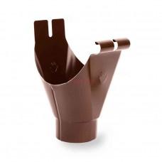 Воронка водосточная Galeco D-125, металл, Шоколадный