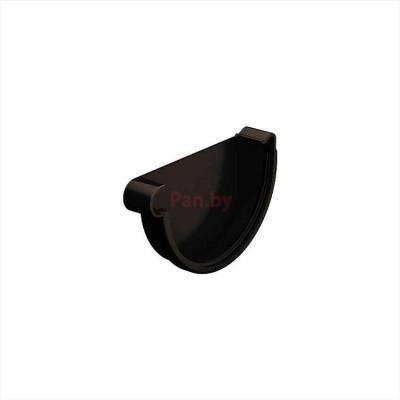 Заглушка желоба Galeco D-150, Черный