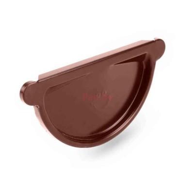 Заглушка желоба Galeco универсальная, с прокладкой, D-150, Шоколадный
